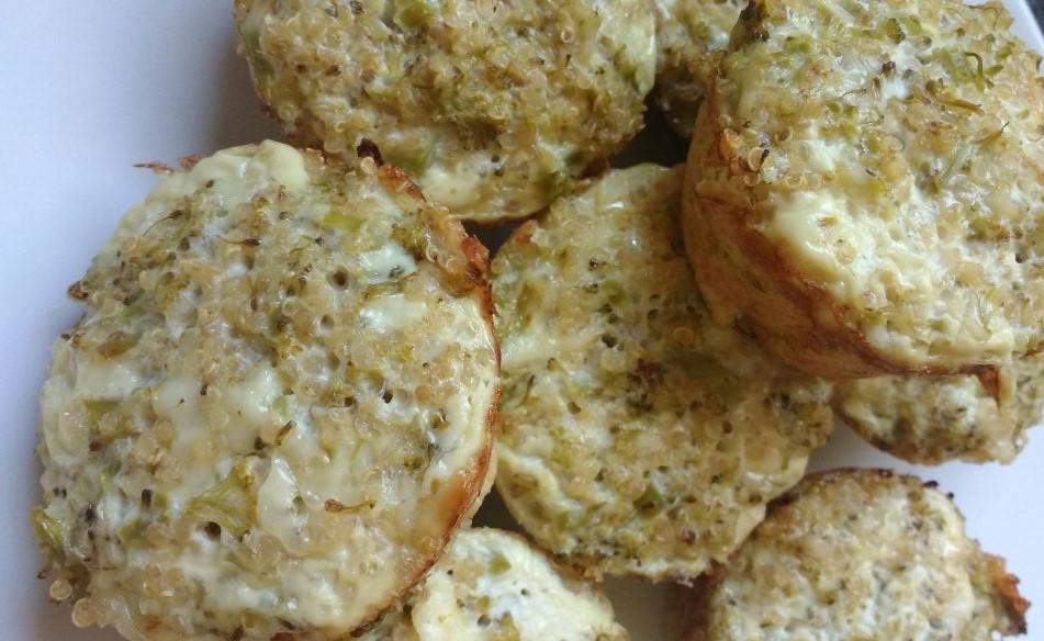 Munffins de Broccoli y Quinoa