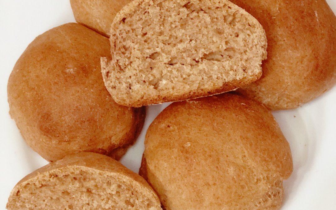 Mi pan integral con avena.